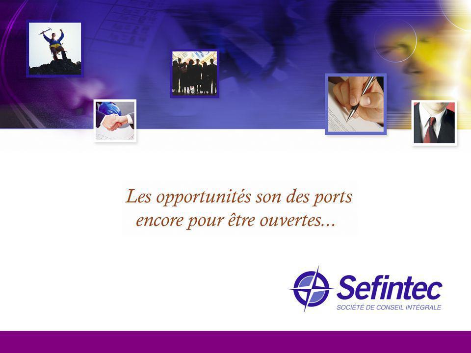 Sefintec face le défi de soutenir la création, l´augmentation, le développement et la consolidation des entreprises et des projets de business en établissant des relations durables, à travers d´un support intégral de conseil qui évolue constamment pour satisfaire les nécessités des marchés contemporaines.