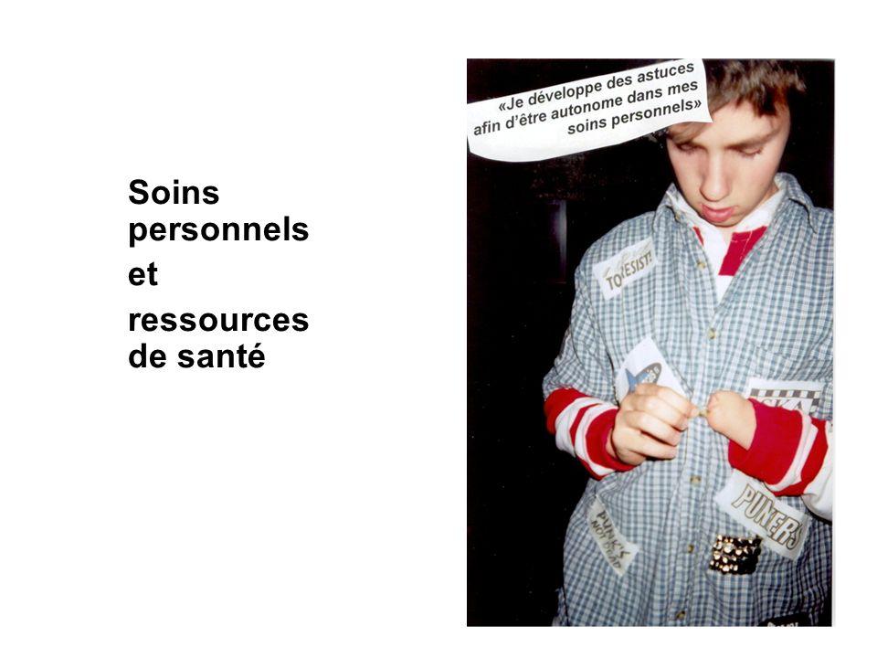 Soins personnels et ressources de santé