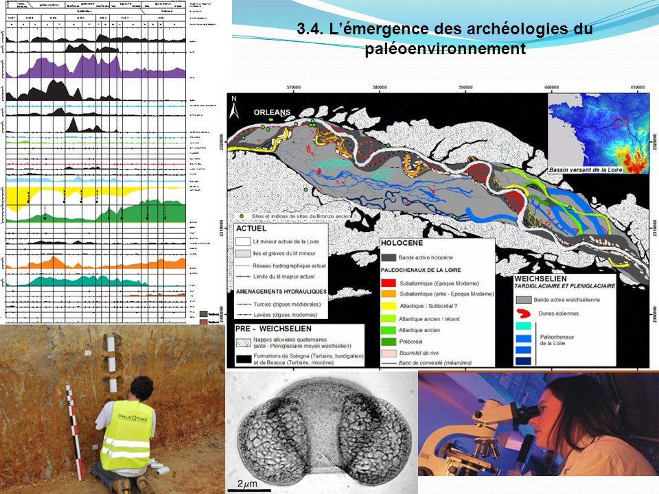 3.4. Lémergence des archéologies du paléoenvironnement