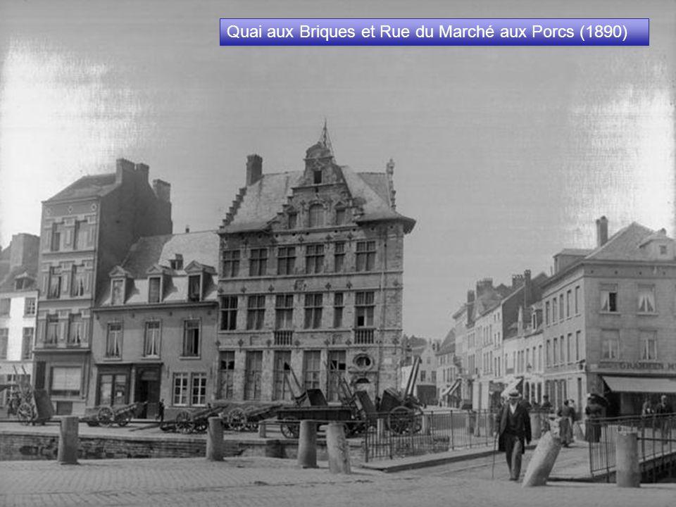 La Bourse (Décembre 1873) La Bourse un peu après son inauguration le 27/12/1873.