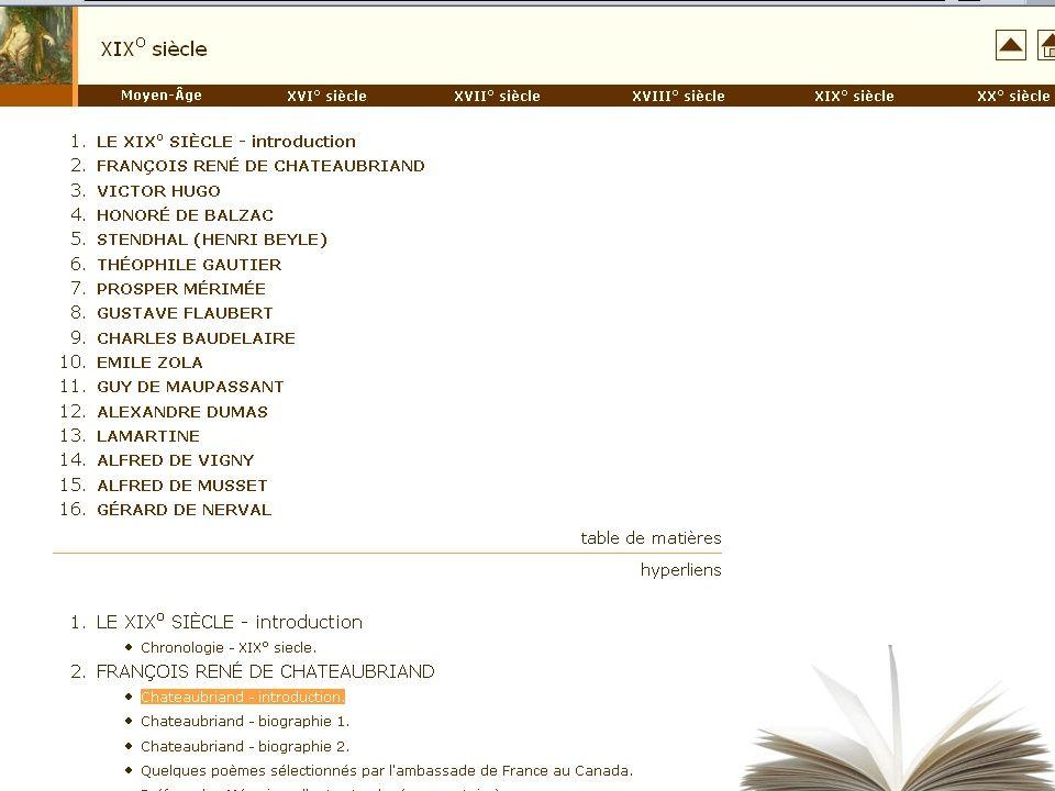 16.06.06FIPLV/LMS50 LITTERATURE Moteurs de recherche Moteurs de recherche Cours Cours Exercices Exercices http://www.fil.us.edu.pl/pomoce/fr/literat.