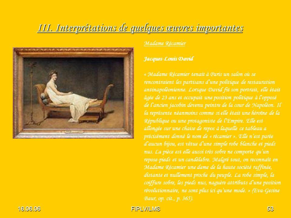 16.06.06FIPLV/LMS52 Quest-ce qui lie ces quelques dramaturges qui sont traités aujourdhui comme créateurs, représentants du Théâtre de lAbsurde .