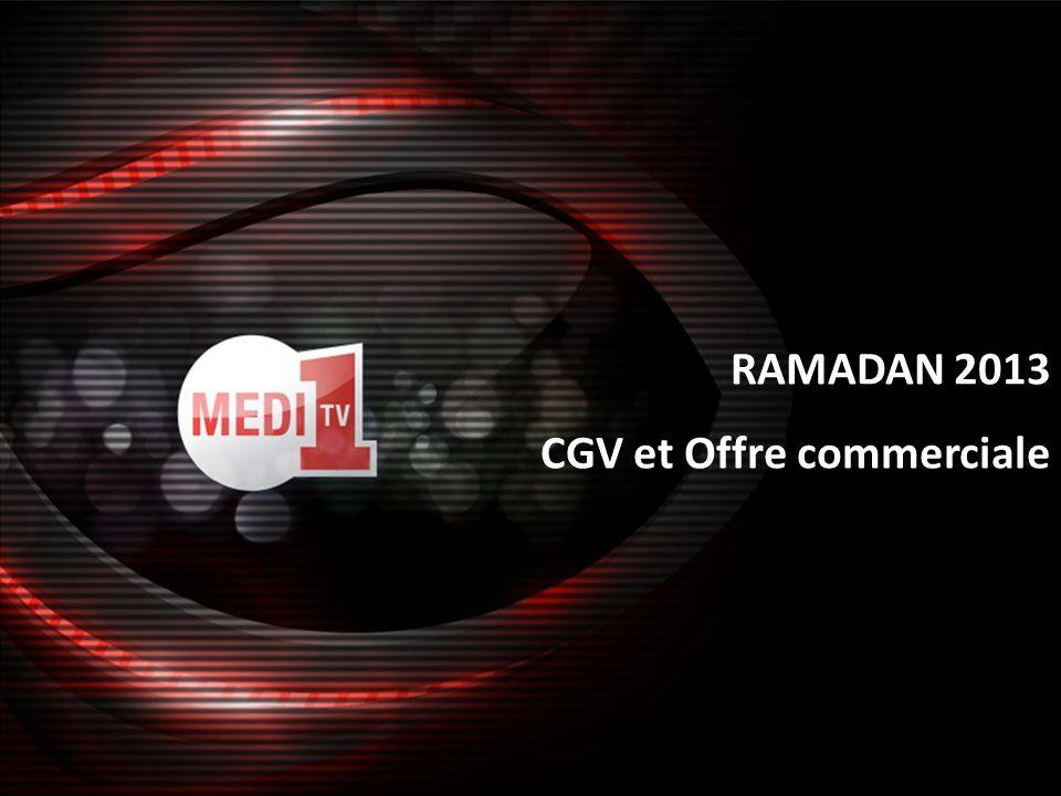 RAMADAN 2013 CGV et Offre commerciale