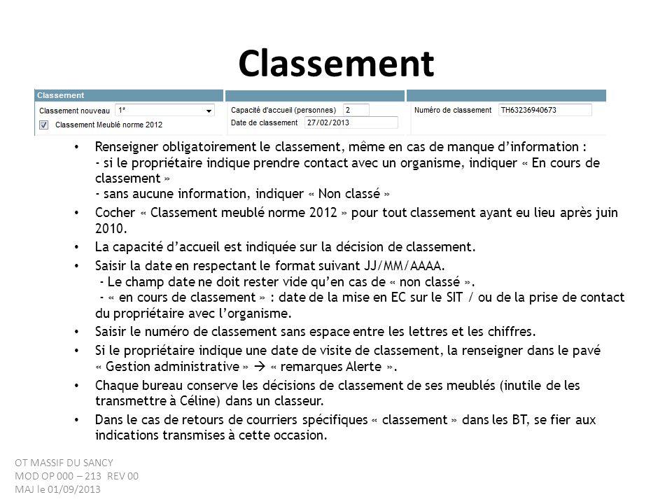Classement Nouvelles Normes 2012 Classement Norme 2012 : un logo identifie les hébergements classés selon les nouvelles normes 2012.