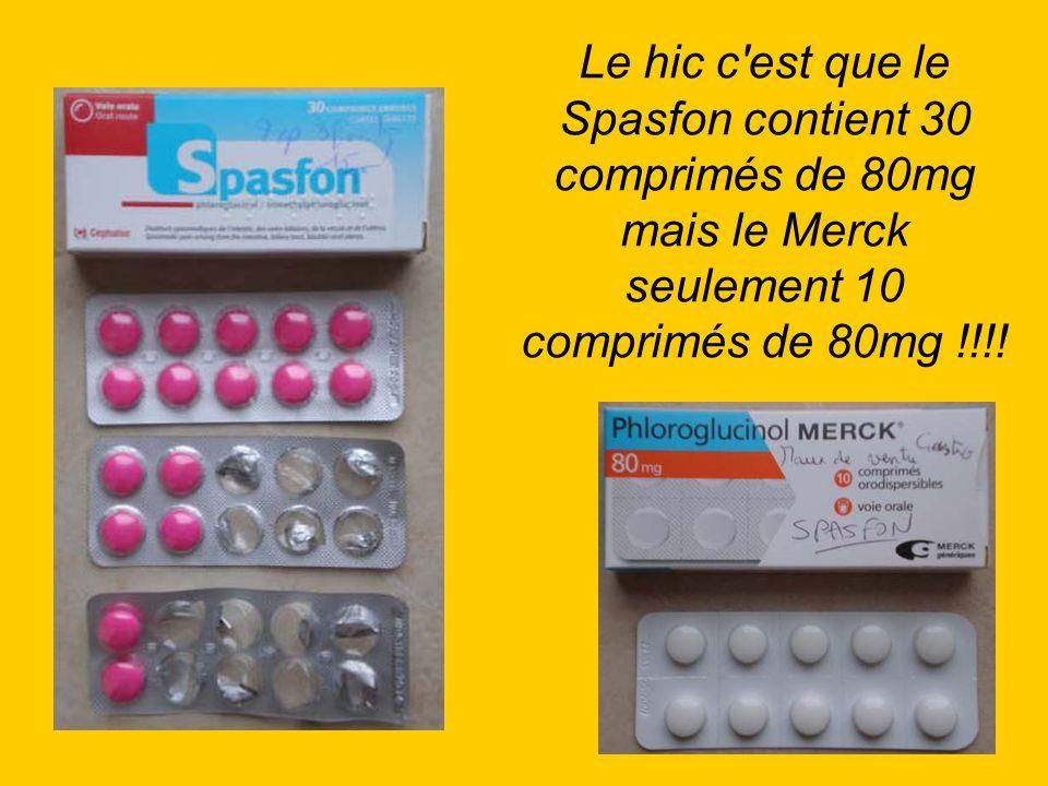 Pour un traitement il en faut 6 comprimés par jour, soit 30 comprimés sur 5 jours, c est pour cela qu on m a donné 3 boîtes de Merck.