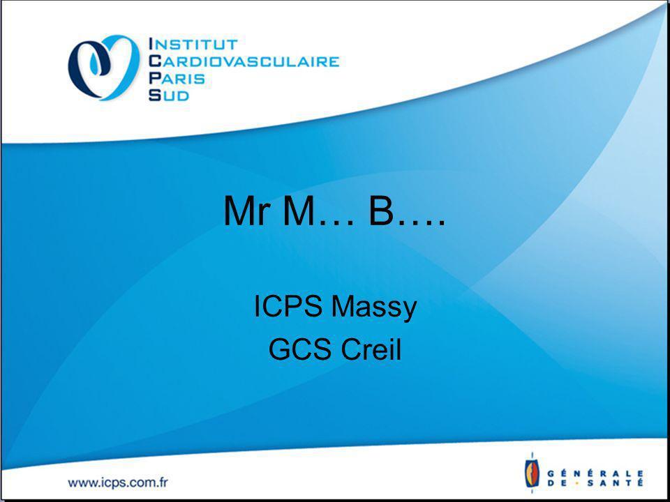 Mr M… B…. ICPS Massy GCS Creil