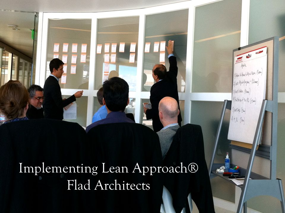Implementing Lean Approach® Flad Architects