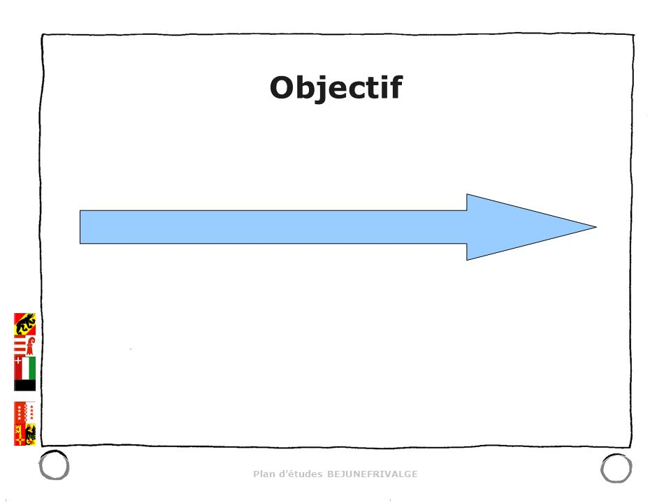 Plan détudes BEJUNEFRIVALGE Objectif