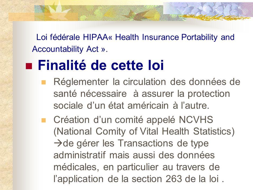 De réguler la gestion de ces données entre entreprises privées dassurance maladie (trop dincompatibilités entre les différents systèmes de gestion de données médicales électroniques).