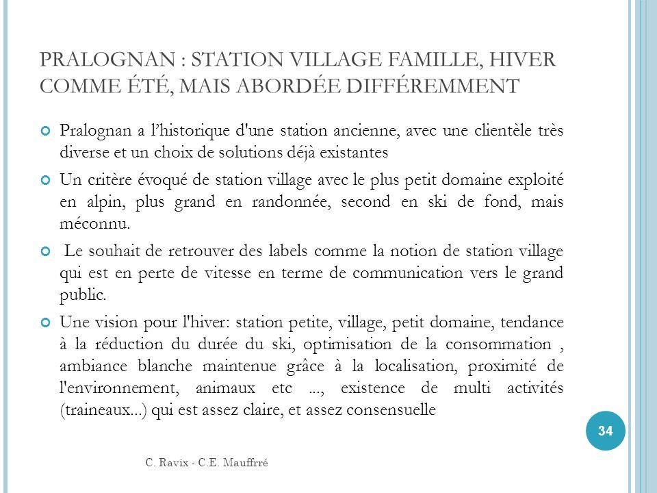 PRALOGNAN : STATION VILLAGE FAMILLE, HIVER COMME ÉTÉ, MAIS ABORDÉE DIFFÉREMMENT Pralognan a lhistorique d'une station ancienne, avec une clientèle trè