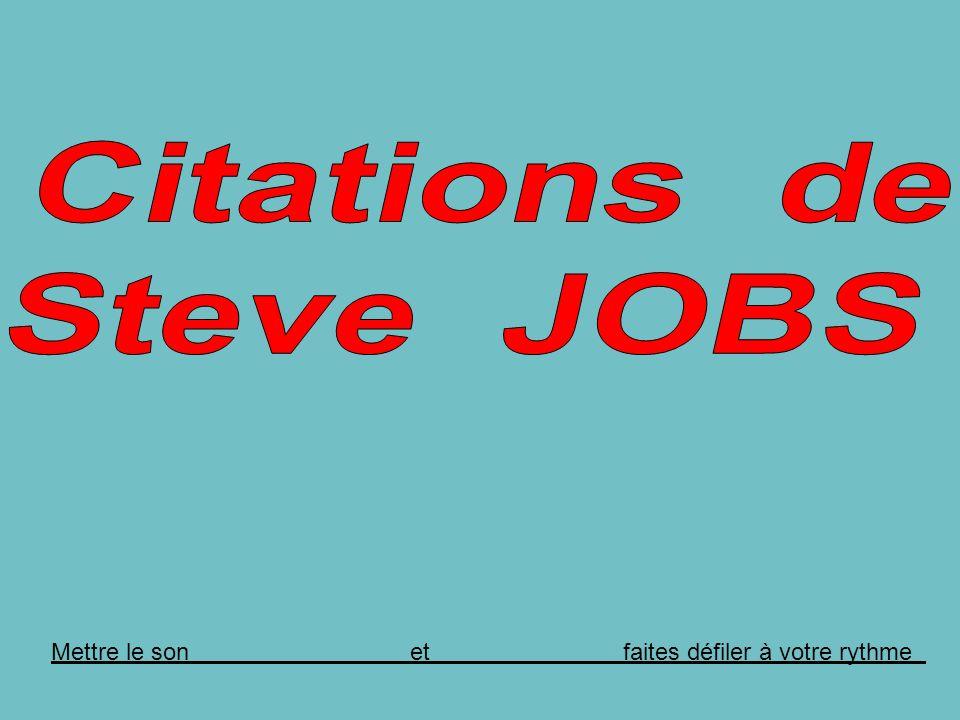 Steve JOBS à propos de son départ forcé dApple en 1985