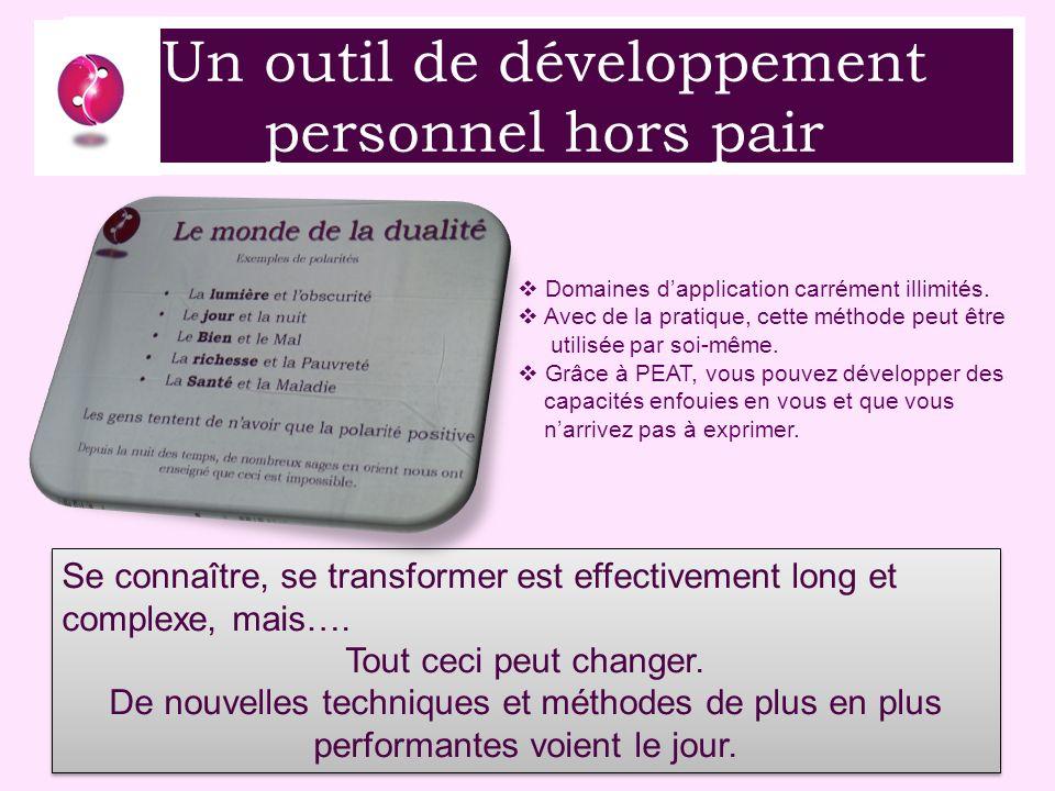 Un outil de développement personnel hors pair Se connaître, se transformer est effectivement long et complexe, mais….