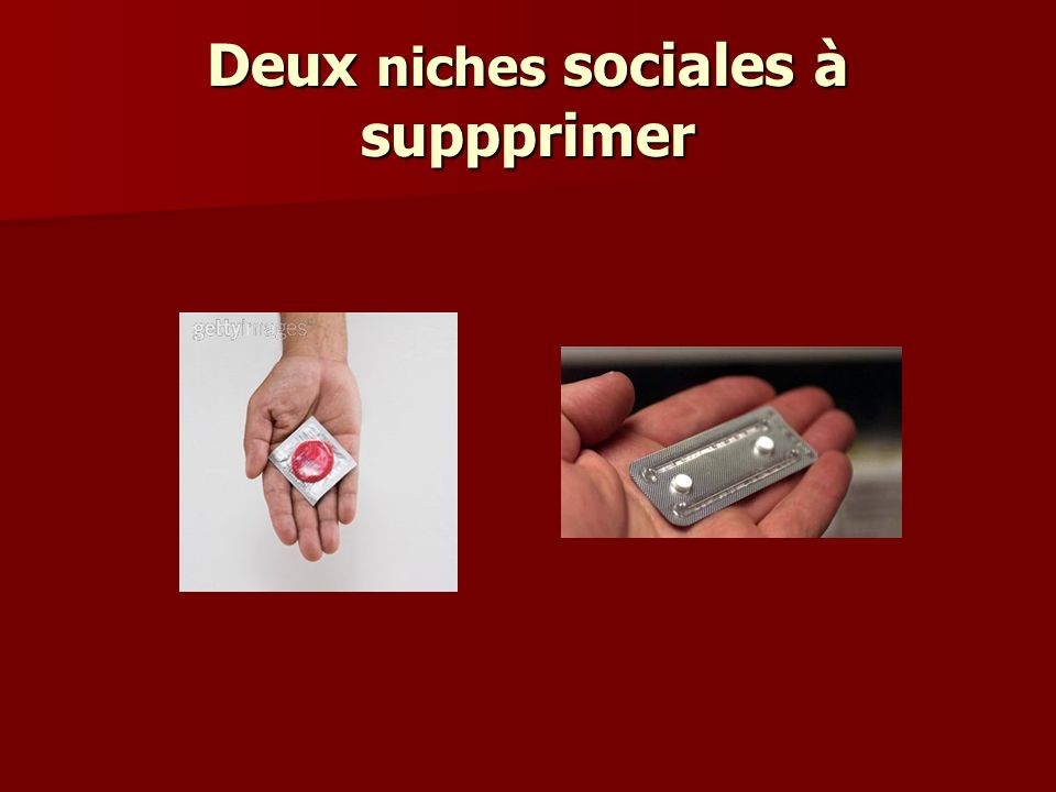 Deux niches sociales à suppprimer