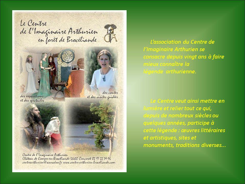 Lassociation du Centre de lImaginaire Arthurien se consacre depuis vingt ans à faire mieux connaître la légende arthurienne. Le Centre veut ainsi mett