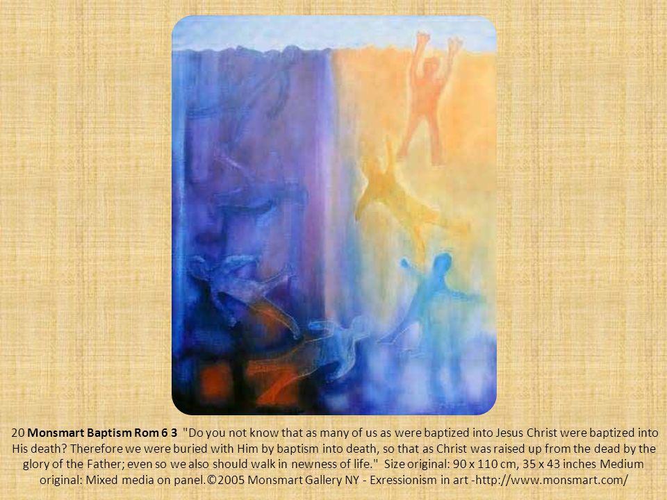 20 Monsmart Baptism Rom 6 3