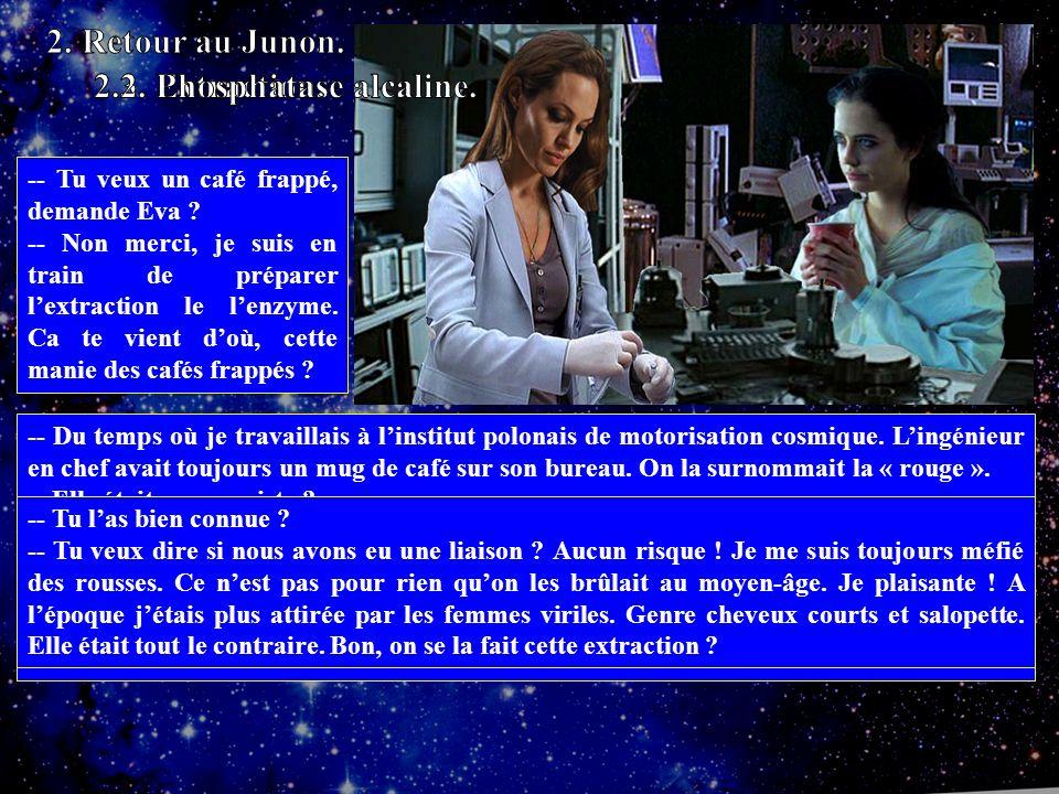 -- Tu veux un café frappé, demande Eva .