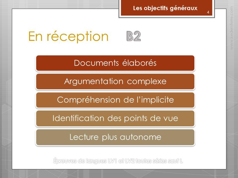 15 Les épreuves www.kedemferre.com Lexpression orale PréparationPrésentation Interaction 10 mn5 mn Passage 10 mn Timing de lépreuve