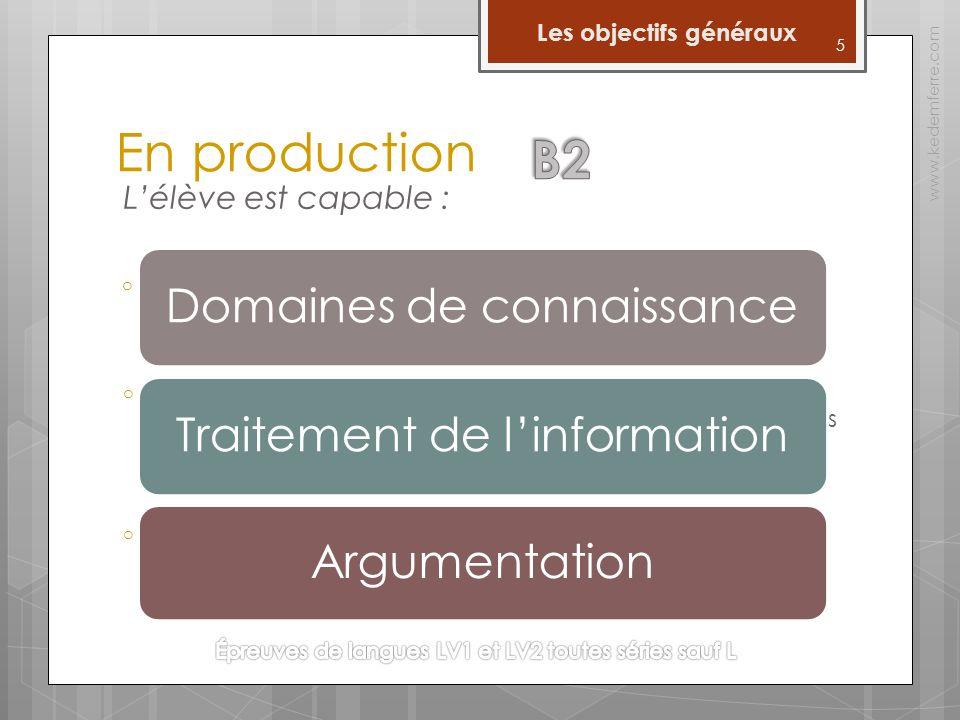 16 Les épreuves www.kedemferre.com Lexpression orale Lévaluation critériée