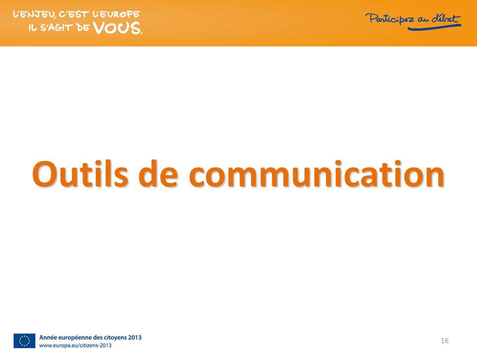 Outils de communication 16