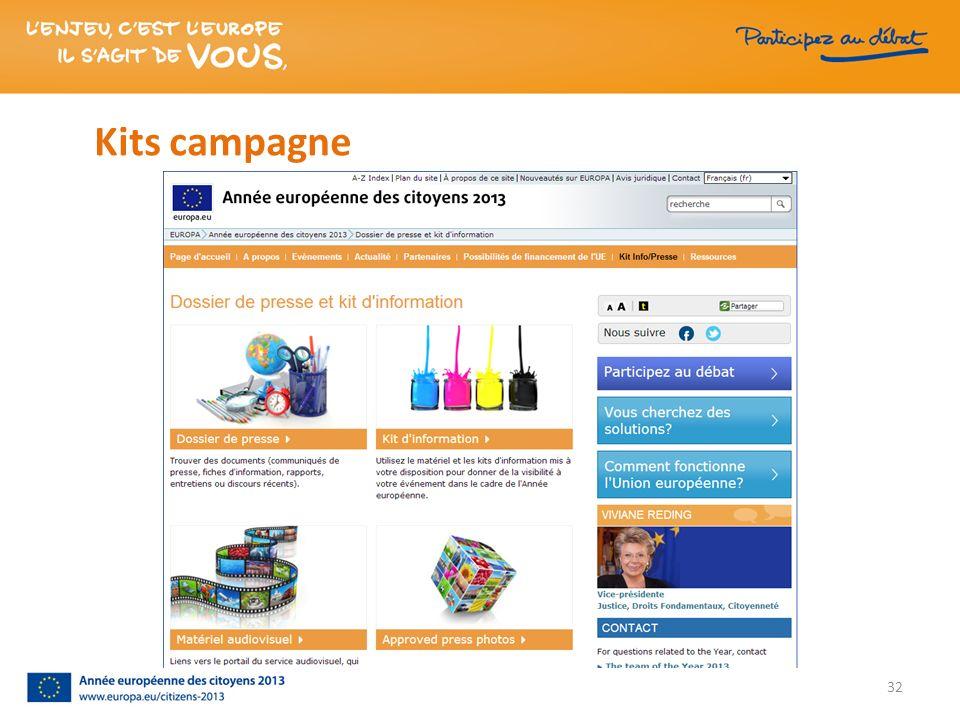 Kits campagne 32