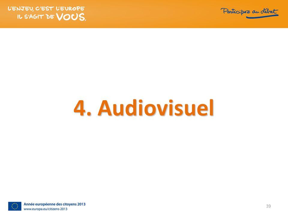 4. Audiovisuel 39
