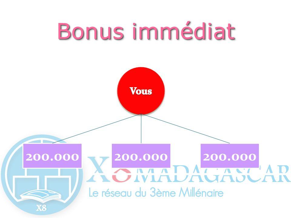 200.000 Bonusimmédiat Bonus immédiat