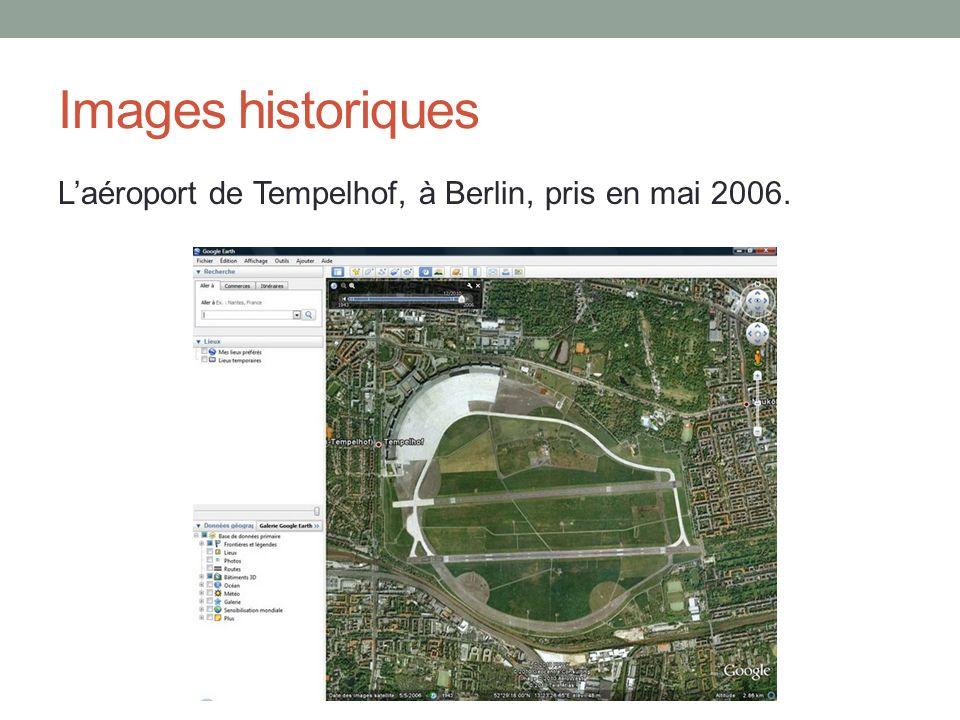 Images historiques Laéroport de Tempelhof, à Berlin, pris en mai 2006.