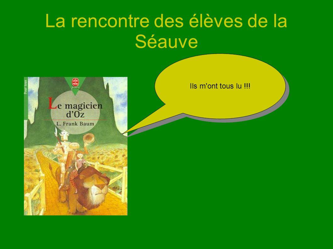 La rencontre des élèves de la Séauve Ils m'ont tous lu !!!