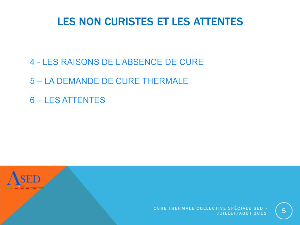 CURE THERMALE SPÉCIALE SED - JUILLET/AOUT 2012 26