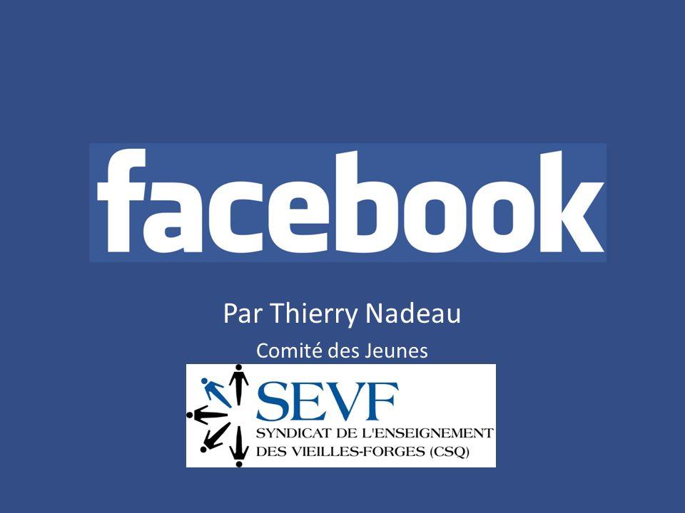 Par Thierry Nadeau Comité des Jeunes