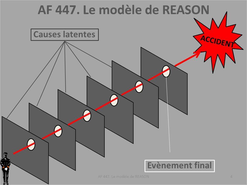AIRBUS EASA DGAC BEA AIR FRANCE EQUIPAGE AF 447. Le modèle de REASON5 Unsafe condition