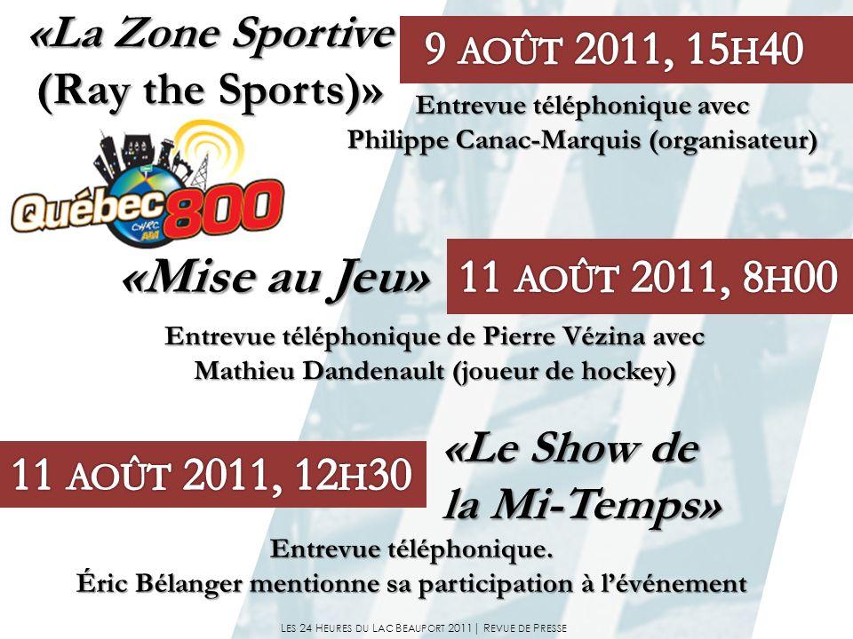 Entrevue téléphonique de Pierre Vézina avec Entrevue téléphonique de Pierre Vézina avec Mathieu Dandenault (joueur de hockey) Mathieu Dandenault (joue