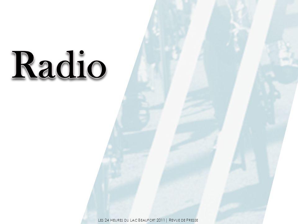 Entrevue téléphonique de Pierre Vézina avec Entrevue téléphonique de Pierre Vézina avec Mathieu Dandenault (joueur de hockey) Mathieu Dandenault (joueur de hockey) «Mise au Jeu» Entrevue téléphonique avec Entrevue téléphonique avec Philippe Canac-Marquis (organisateur) Philippe Canac-Marquis (organisateur) «La Zone Sportive (Ray the Sports)» Entrevue téléphonique.