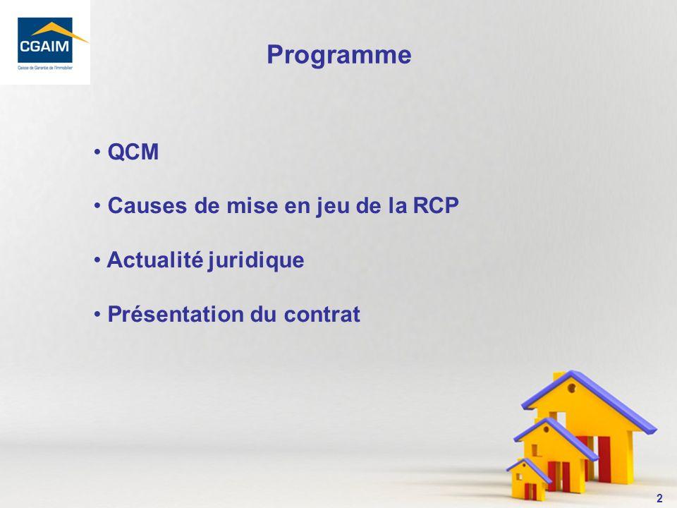 3 1- La Loi Hoguet rend-elle obligatoire le contrat dassurance RCP .