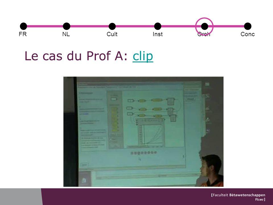 Le cas du Prof A: clipclip FRConcCultOrchNLInst
