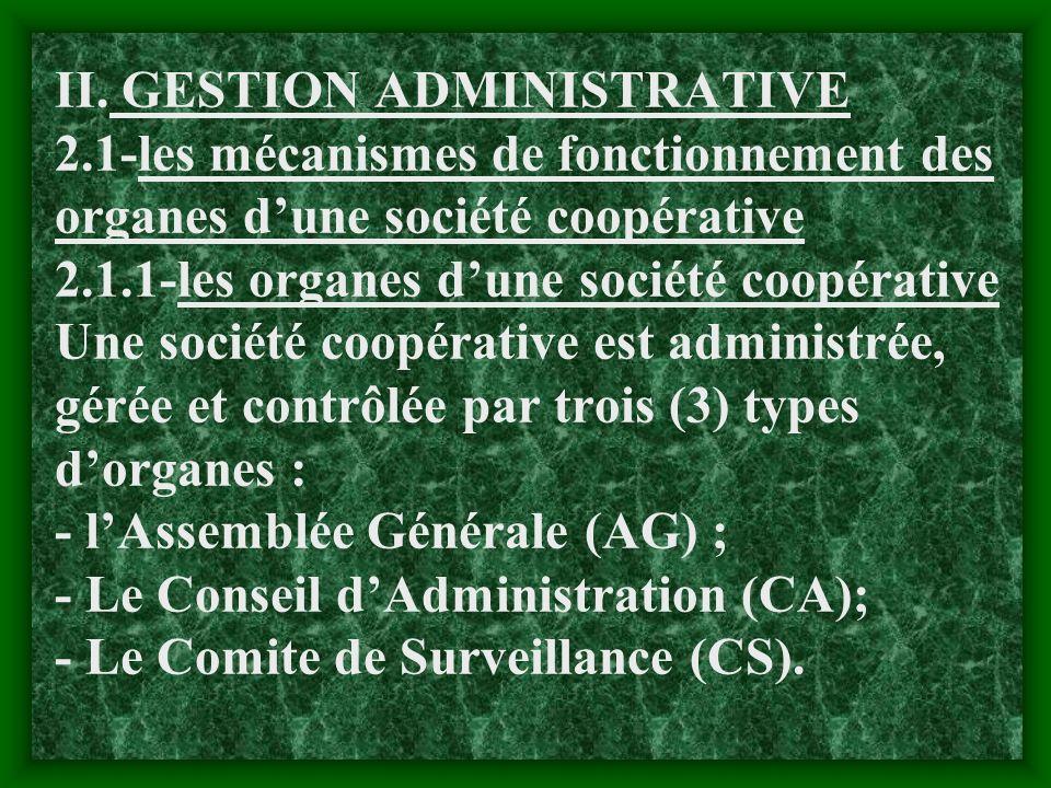 NB. Une des recommandations de lOIT suivant la convention N°193 attire une attention particulière sur le fait que les sociétés coopératives doivent so