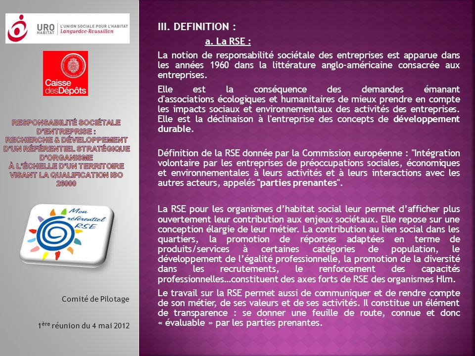 III.DEFINITION : a.
