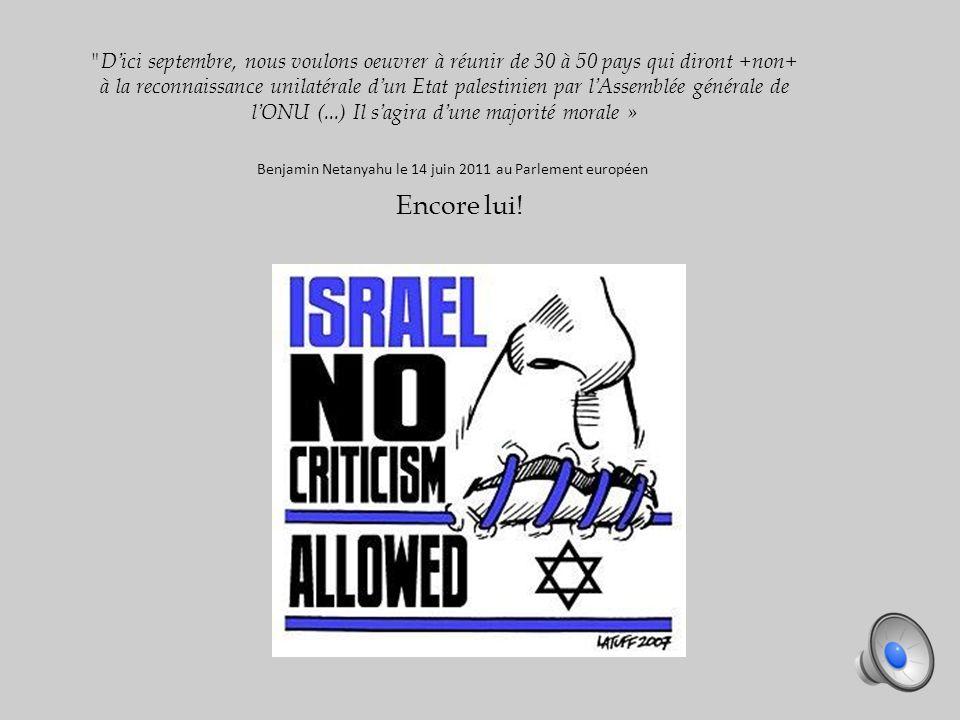 « Jérusalem ne doit jamais être divisée. Jérusalem doit rester la capitale unifiée dIsraël.