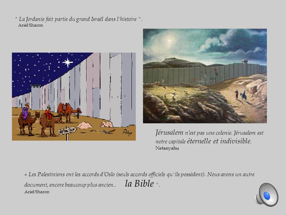 La Jordanie fait partie du grand Israël dans l histoire .