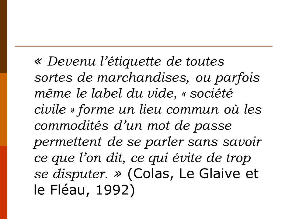 Révolution française (1789) Suppression des « corps intermédiaires » (Loi Le Chapelier de 1791).