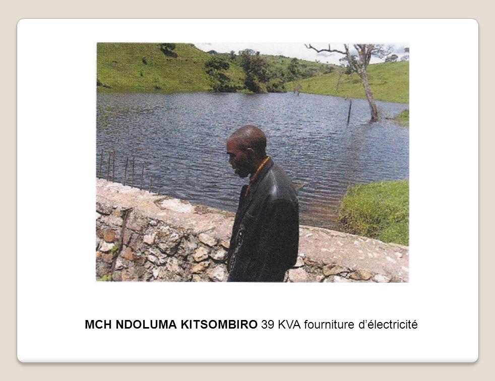 MCH NDOLUMA KITSOMBIRO 39 KVA fourniture délectricité