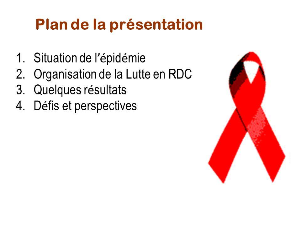 1. Situation de lépidémie