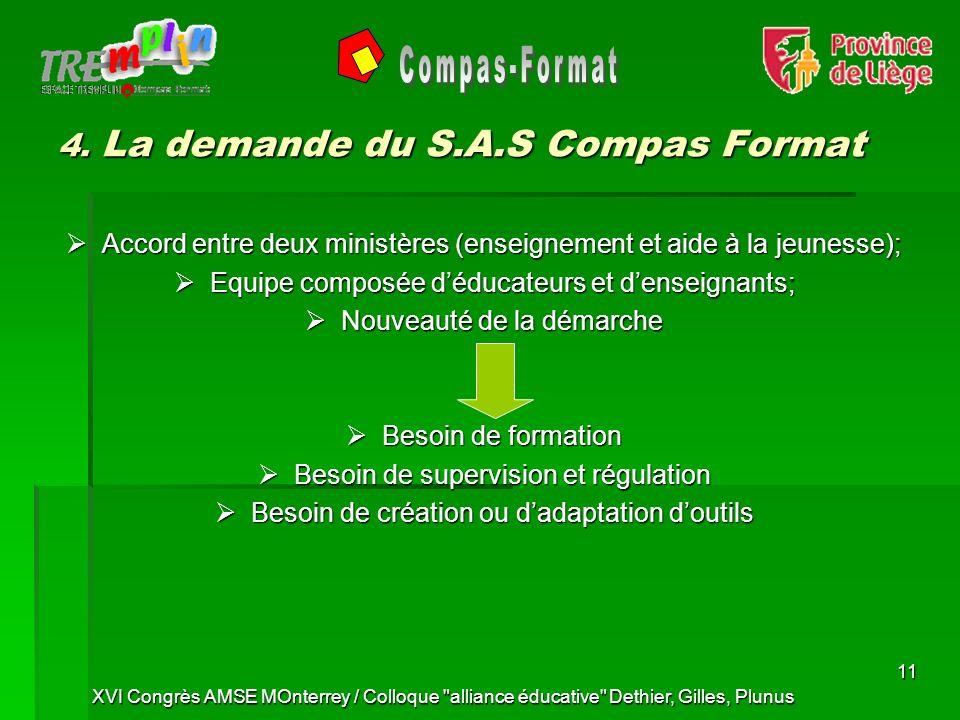 XVI Congrès AMSE MOnterrey / Colloque alliance éducative Dethier, Gilles, Plunus 11 4.