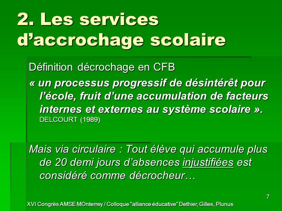 XVI Congrès AMSE MOnterrey / Colloque alliance éducative Dethier, Gilles, Plunus 7 2.