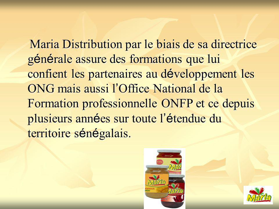 Formation sur la transformation des Fruits et légumes organisée par lInstitut de Technologie Alimentaire (ITA) Renforcement des capacités Institutionnelles et opérationnelles) à Dakar Formation des Femmes Entrepreneurs sur les technologies de transformation des céréales, légumineuses et tubercules