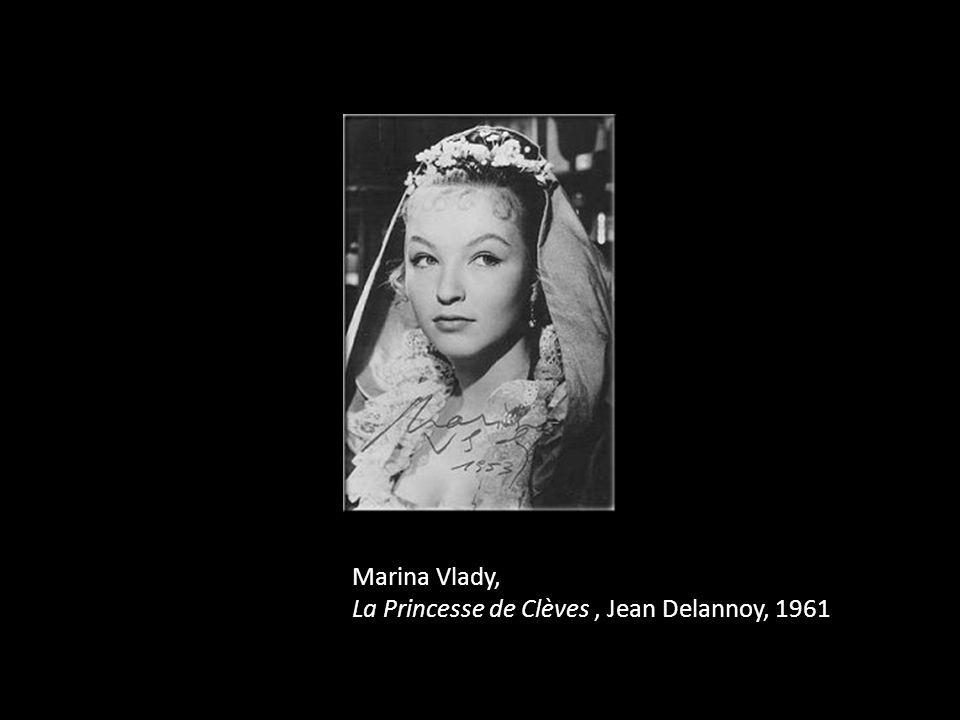 Marina Vlady, La Princesse de Clèves, Jean Delannoy, 1961