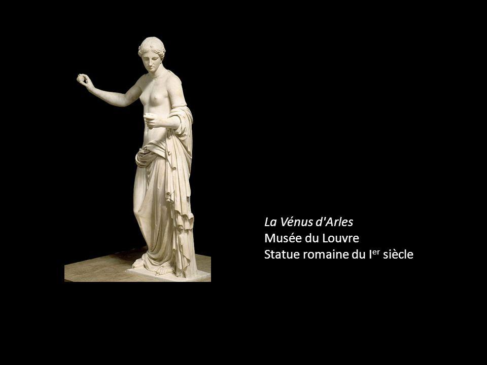 La Vénus d'Arles Musée du Louvre Statue romaine du I er siècle