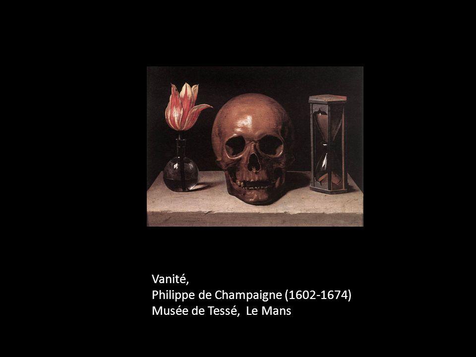 Vanité, Philippe de Champaigne (1602-1674) Musée de Tessé, Le Mans