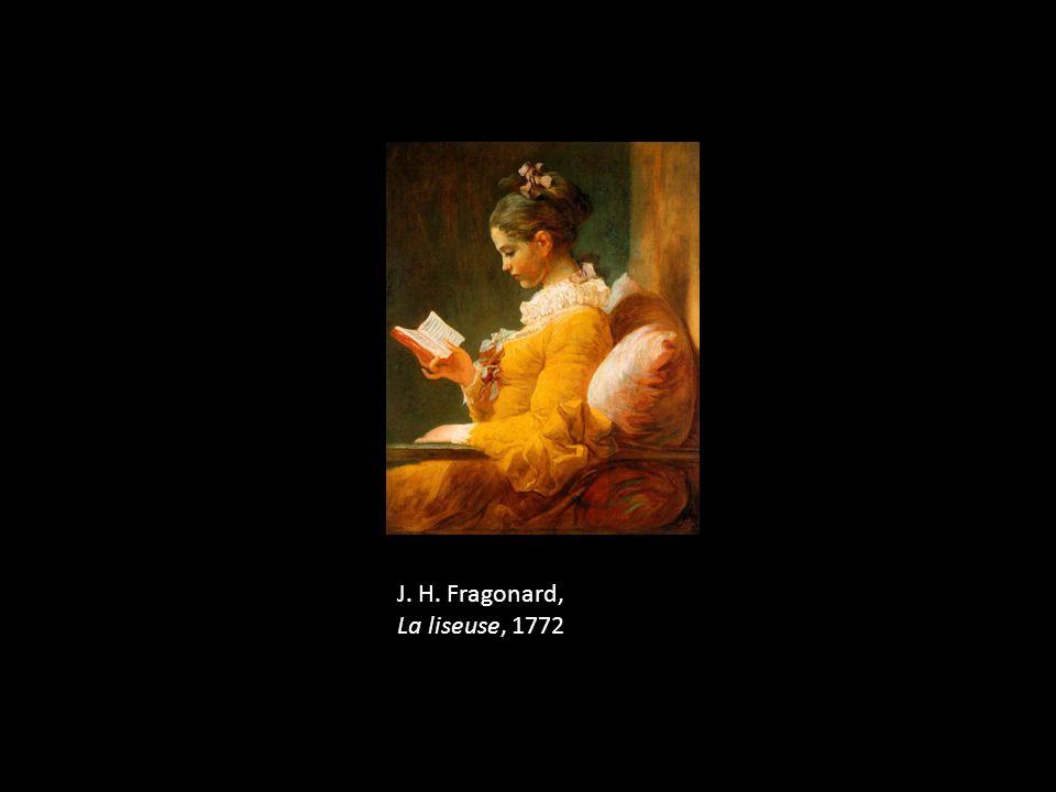 J. H. Fragonard, La liseuse, 1772