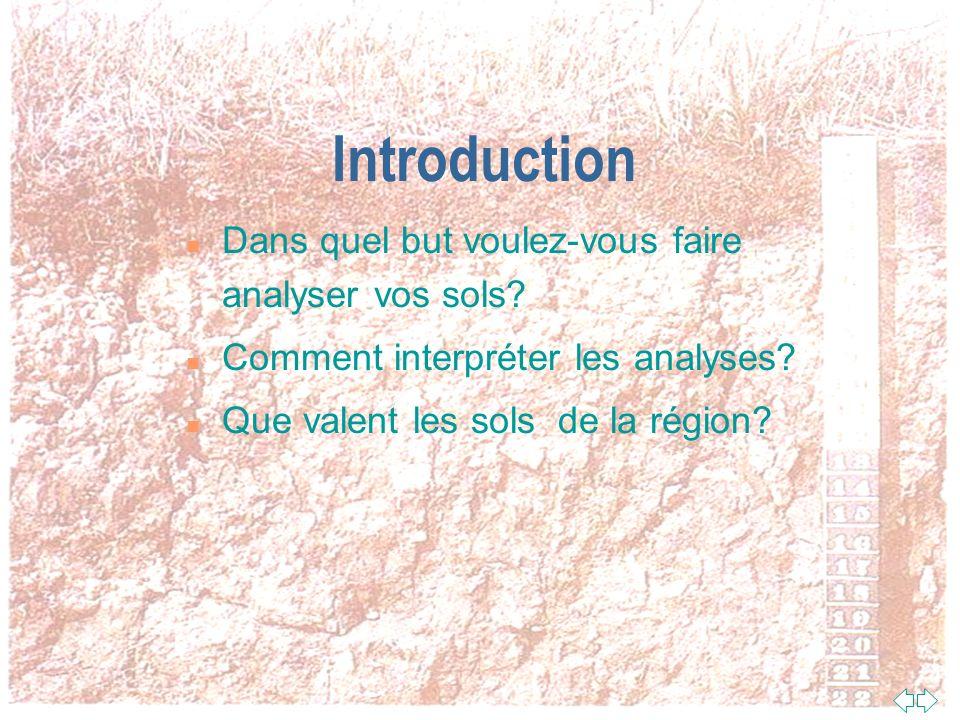 Passer à la première page Mon Analyse De Sol, Facile! Robert Robitaille, agr, Conseiller en conservation des ressources MAPAQ Abitibi-Témiscamingue